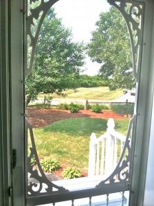 NEW FRONT DOOR VIEW