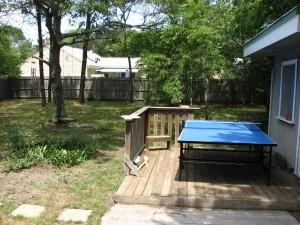 Ping pong  yard