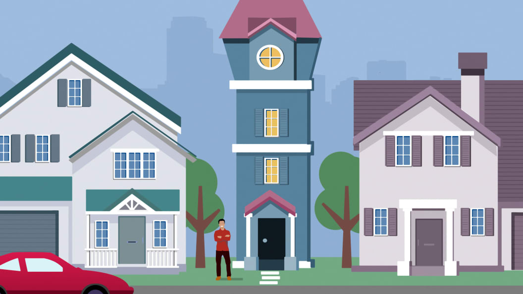 Spite Houses 9 Homes People Built Just To Annoy Their