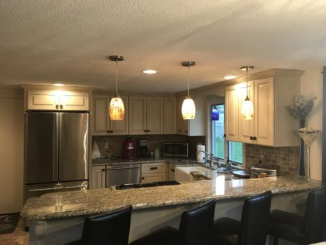 CAPE GRANITE & STAINLESS STEAL KITCHEN